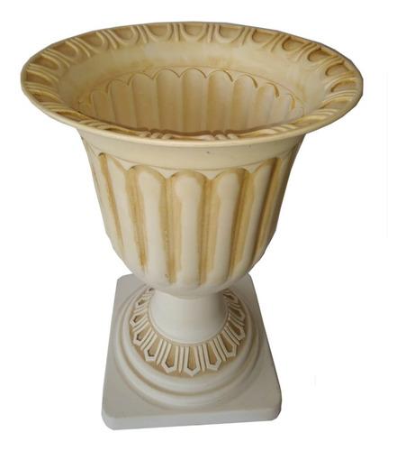 Copa Decorativa Romana Grande Beige