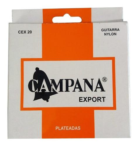 Imagen 1 de 1 de Encordado Campana Cex-20 Export Cuerdas De Nylon