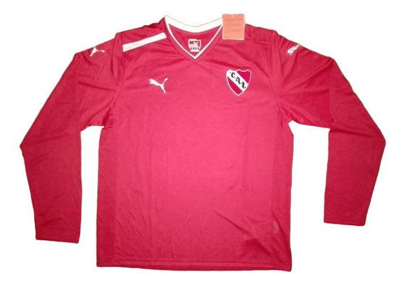 Camiseta De Entrenamiento De Independiente 2011. M/largas.