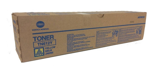 Imagen 1 de 1 de Toner Konica Minolta Tn612y C5500/6500 Original Amarillo