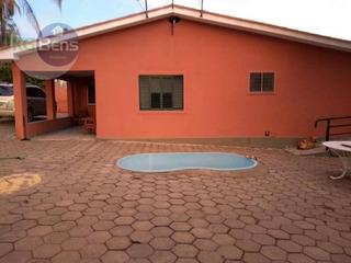 Rancho Residencial À Venda, Zona Rural, Carmo Do Rio Claro. - Ra0001