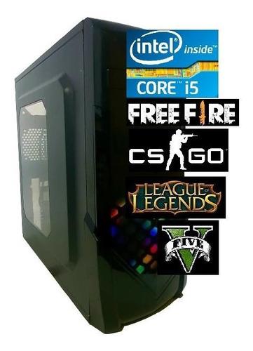 Imagem 1 de 6 de Cpu Pc Gamer Intel Core I5 3.6ghz 8gb Ssd480gb Fonte 500wts