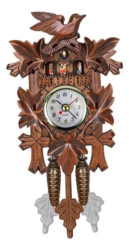 Imagen 1 de 7 de Antiguo Reloj De Cuco Alemán Cuarzo Movimiento Arte Creativo