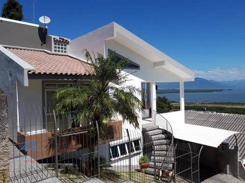 Casa Com 3 Dormitórios À Venda, 165 M² Por R$ 594.800,00 - Costeira Do Pirajubaé - Florianópolis/sc - Ca0268