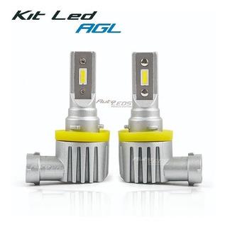 Kit Led H11/9005/h7 Fanless Chip Agl Auto Leds