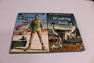 Serie Breaking Bad Temporada 1 Y 2 Original Dvd