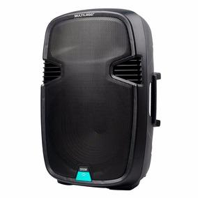 Caixa De Som Bluetooth 300w Rms Preta Sp220 Multilaser