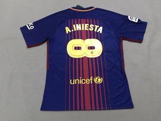 Camisa Especial Barcelona Iniesta Infinity Edição Limitada