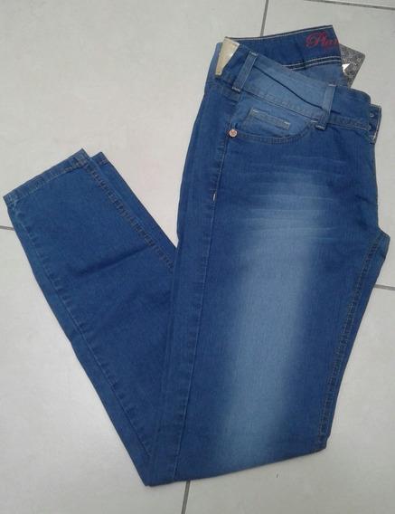 Calça Jeans Feminina Magic Basic Planet Girls