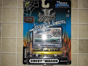 Chevy Wagon Muscle Machines Lowrider Jesse James 1:64