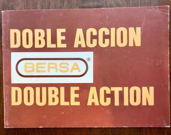 Manual Con Datos De Pistolas Bersa Cal 22 Y 380 (despiece)