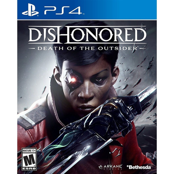 Dishonored Death To The Outsider Ps4 Lacrado