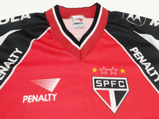 Camiseta São Paulo Anos 90 Penalty Nova Sem Uso - Xa