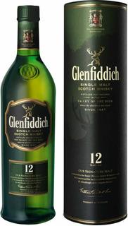 Whisky Glenfiddich 12 Años 750ml. Envío Gratis! Microcentro!