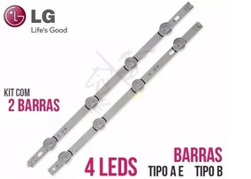 Kit 02 Barras Led Lg A+b 42lb5500 42lb5600 42lb5800 42lb6200