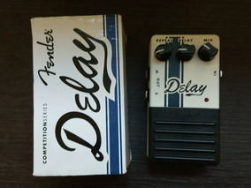 Pedal Fender Delay Competition Series,sem Uso