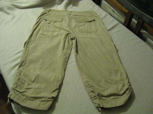 Pantalon Cargo Capri De Mujer Khakis Co Talla W4 Beige Mercado Libre