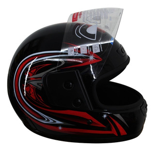 Casco Integral Abatible Motocicleta Seguridad Motociclista