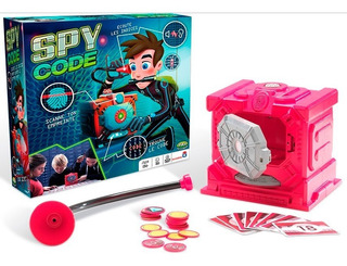 Juego Spy Code Descifra El Codigo Caja Fuerte Original Tv