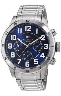 Reloj Tommy Hilfiger De Acero Inoxidable 1791053 Con Pulsera