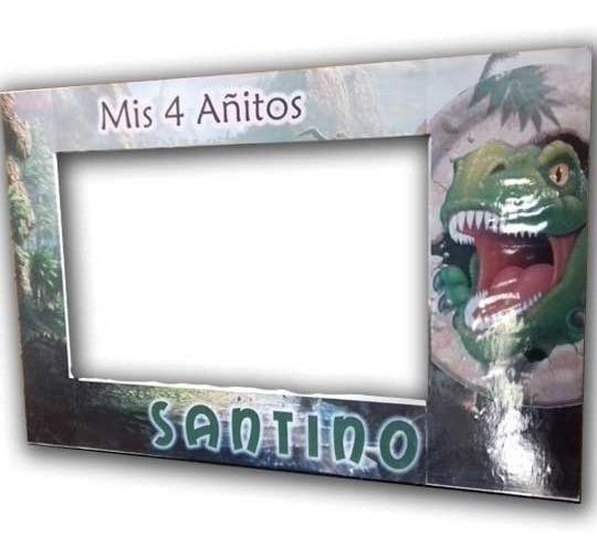 Dinosaurios Y Más ,marcos Selfies, Cumpleaños Tematicos