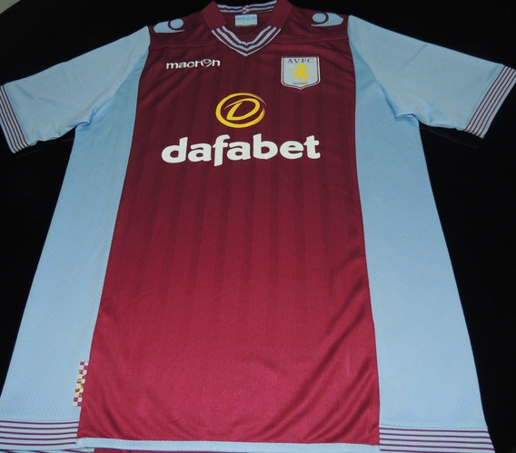 Camisa Aston Villa Home 2013 Tam. G Original