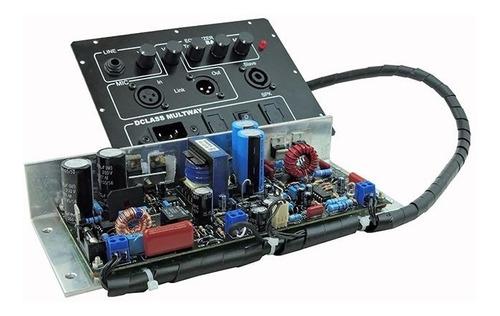 Kit Dclass P/ Ativação De Caixas Multivias 300 Watts Rms