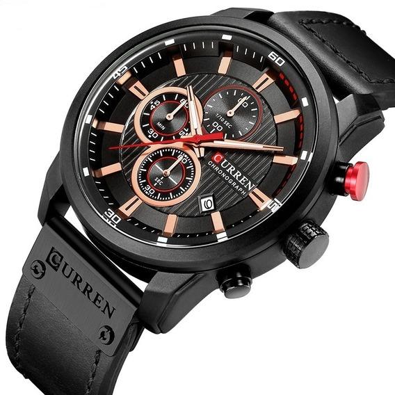 Relógio Masculino Curren 8291 Quartzo Esporte