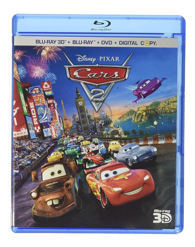 Blu Ray 3 D Cars 2 Una Nueva Aventura Sobre Ruedas Mercado Libre