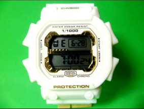 Relógio Atlantis Sport G-shock Branco Quadrado (10pçs)