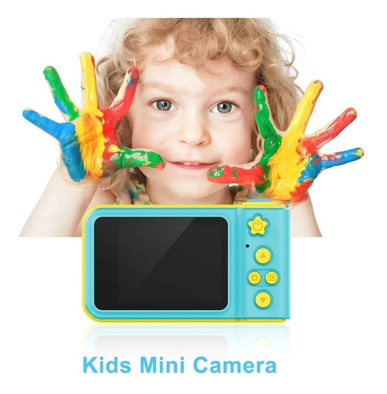 Camera Digital Fotografica Kids Criança Infantil Selfie 3m