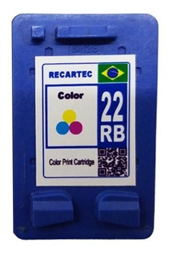 Cartucho 22 Color Para Impressora Deskjet D2460