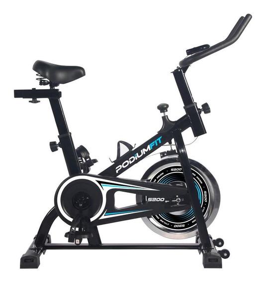 Bicicleta Ergométrica Spinning Podiumfit S200 Silenciosa