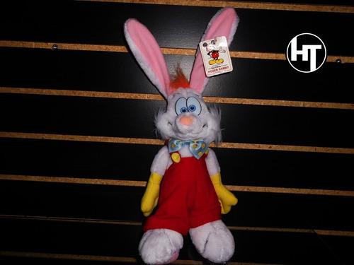 Imagen 1 de 5 de  Roger Rabbit, Peluche, Disney, Vintage 1980, Nuevo, 12 PuLG