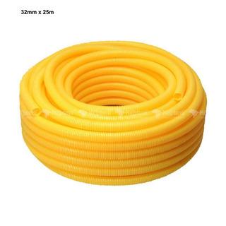 Tubo/eletroduto De Pvc Flexível Corrugado 32mm Krona (25m)
