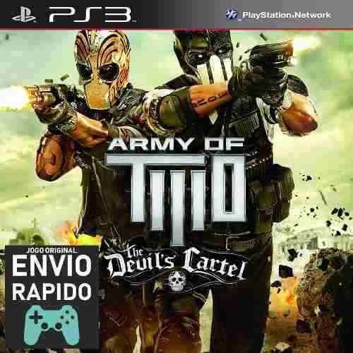 Army Of Two The Devils Cartel Jogos Ps3