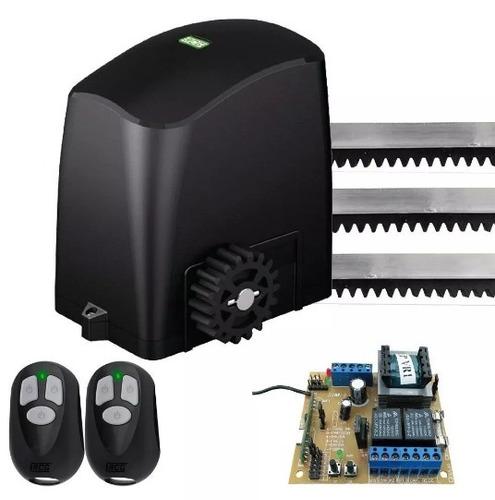 Imagem 1 de 6 de Motor Duplo Portão Automático Eletrônico Deslizante 127 220v