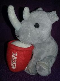 Pelucia Nescafe Promocional Rinoceronte