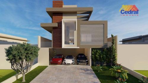 Casa Com 3 Dormitórios À Venda, 186 M² Por R$ 1.500.000,00 - Parque Residencial Itapeti - Mogi Das Cruzes/sp - Ca0734