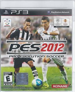 Pes 2012 Pro Evolution Soccer Para Ps3