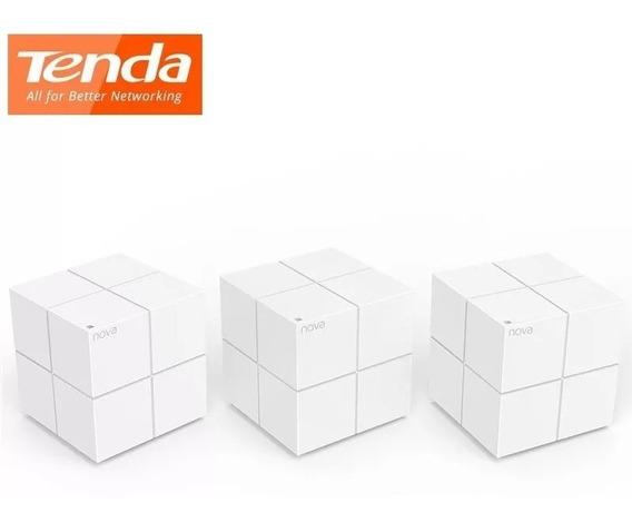 Roteador Wifi Ac1200 Dual Band 3 Peças Tenda Mw6