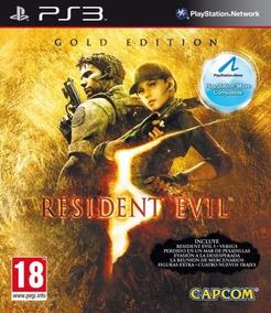Resident Evil 5 Gold Edition Ps3 Midia Digital Receba Hoje