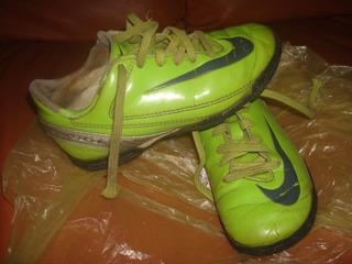 Tenis Nike Futbol Niño