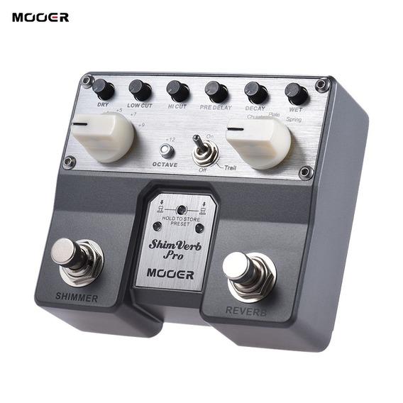 Pedal De Guitarra Mooer Shimverb Reverb Pro