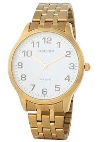 Relógio Masculino Analógico 3160145m Dourado - Backer