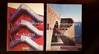 Contemporary European Architects Taschen Vol 4 Y 5 Oferta