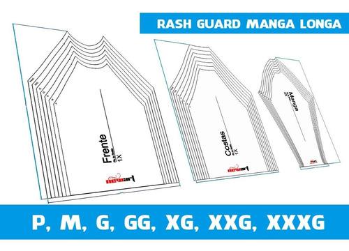 Molde Camiseta Rash Guard - Para Esportes