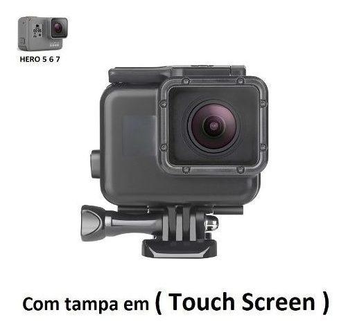 Caixa Estanque Blackout Case C/ Touch Gopro Hero 5 , 6, 7
