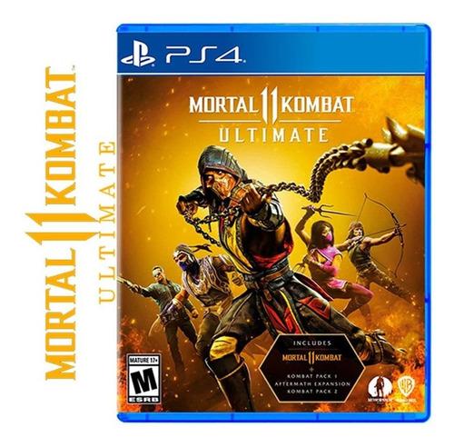 Imagen 1 de 2 de Mortal Kombat 11 Ultimate Ps4 Fisico Sellado Ade Ramos