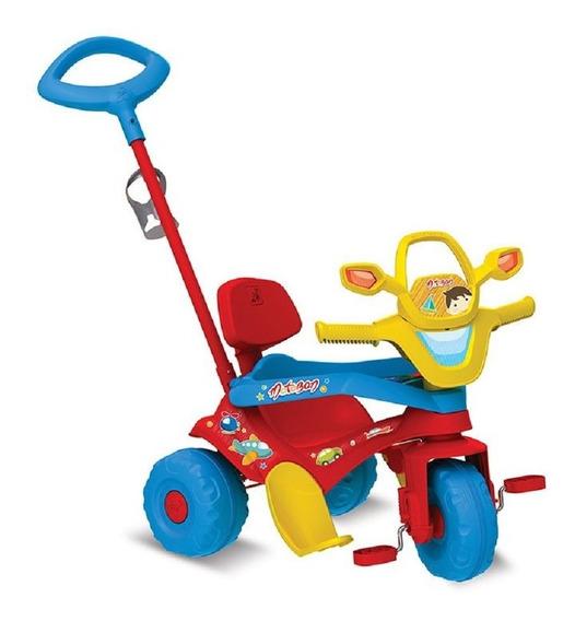 Triciclo Motoban 3 Em 1 Vermelho - Bandeirante